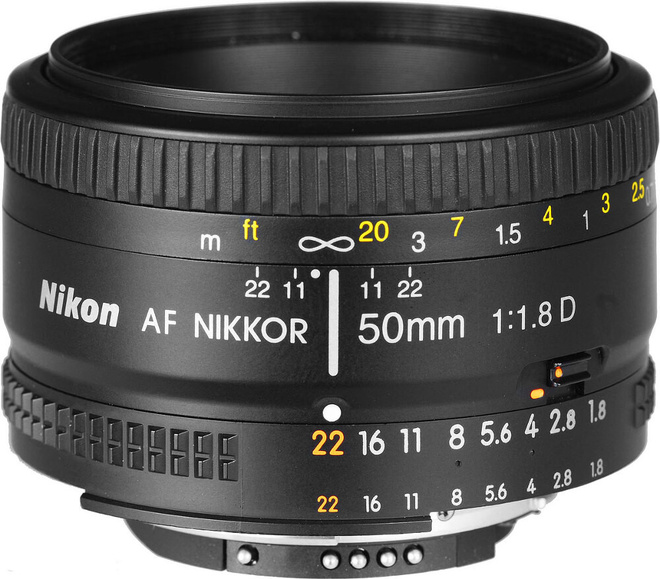NIKON AF 50/1.8D