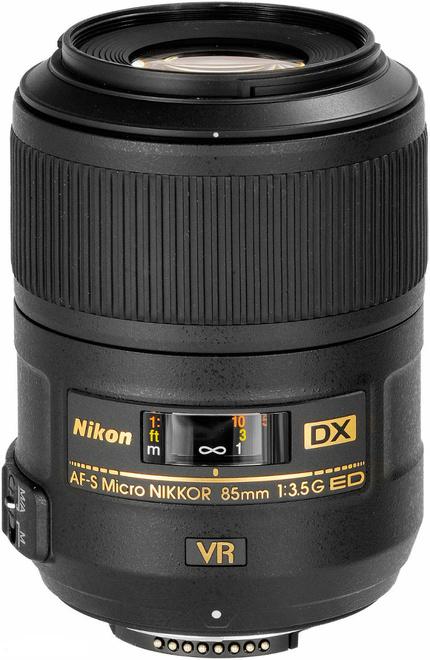 NIKON AF-S DX 85/3.5G ED VR MACRO