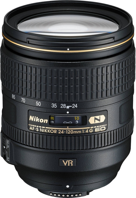 NIKON AF-S 24-120/4G ED VR