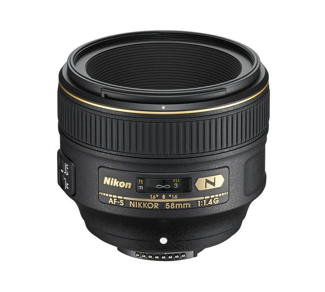 NIKON AF-S 58/1.4G