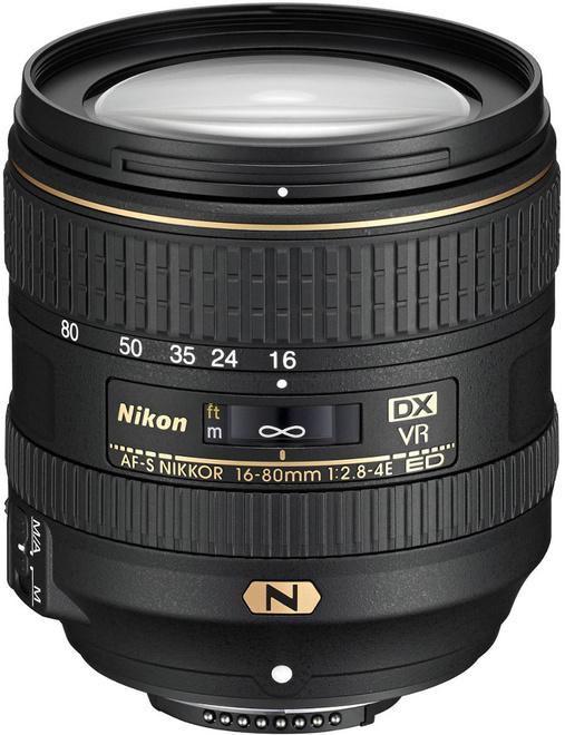 NIKON AF-S DX 16-80/2.8-4E ED VR
