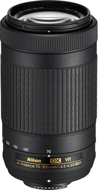 NIKON AF-P DX 70-300/4.5-6.3G ED VR