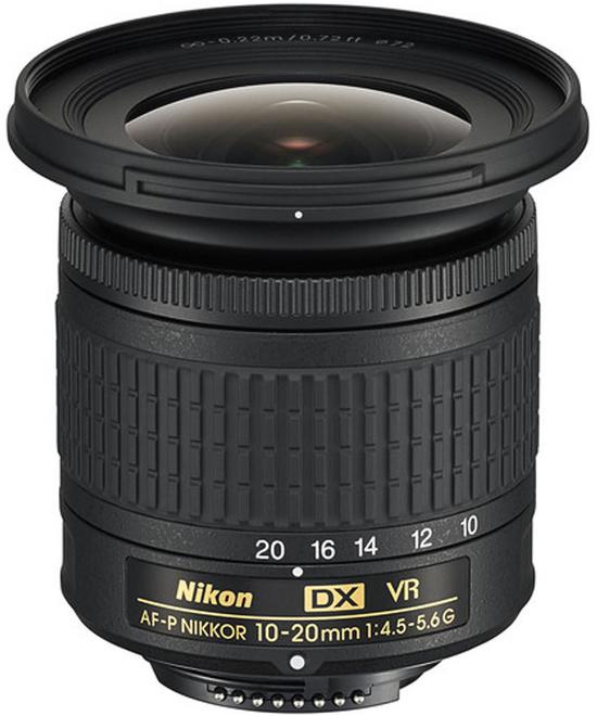 NIKON AF-P DX 10-20/4.5-5.6 G VR NIKKOR