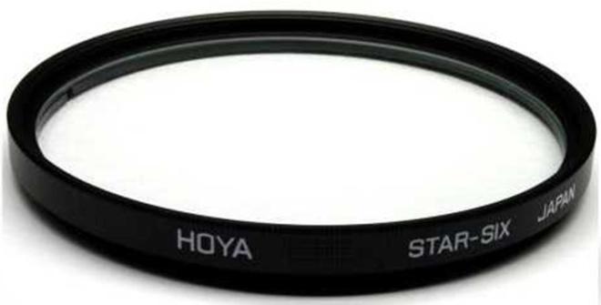 HOYA Filtre STAR 6 ETOILES 62mm