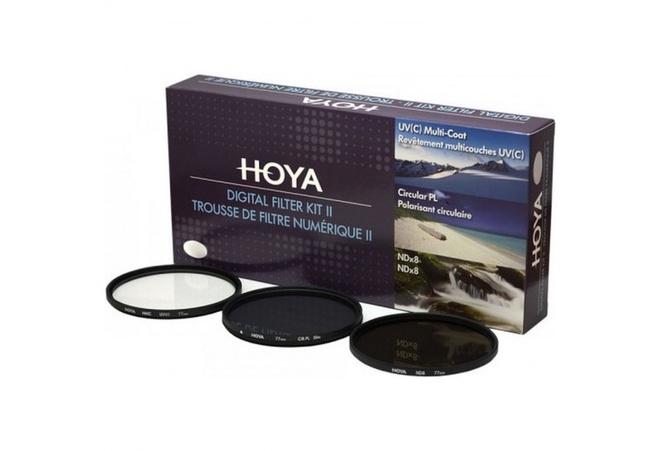HOYA Filtres DFK77 II (UV,PLC,ND) D77