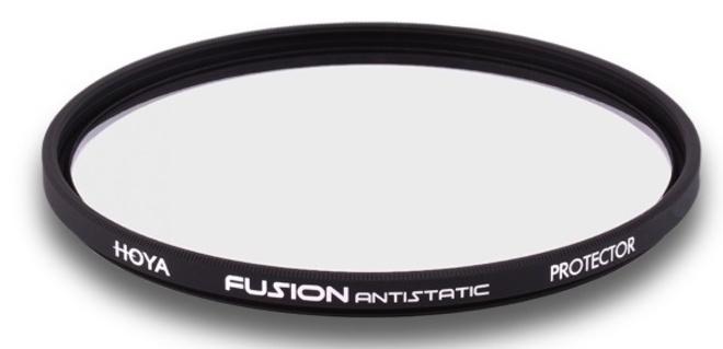 HOYA filtre protect fusion antistatic 55 mm.