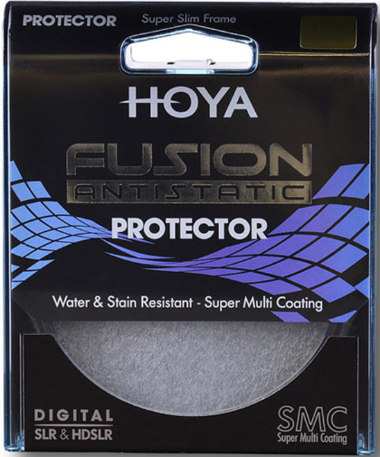 HOYA filtre protect fusion antistatic 86mm.