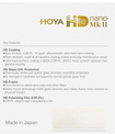 HOYA FILTRE UV HD NANO MK II 49MM