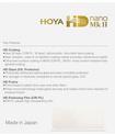 HOYA FILTRE UV HD NANO MK II 58MM