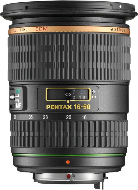 PENTAX 16-50/2.8 ED AL IF SDM DA