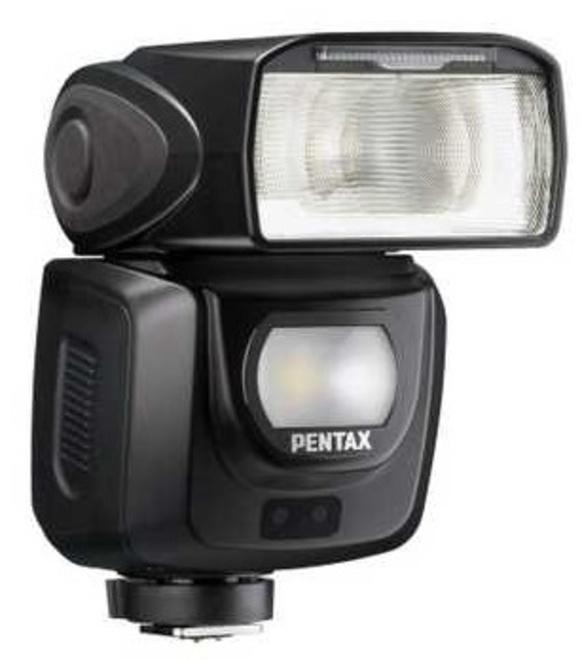 PENTAX flash af-360 fgz ii w/case.