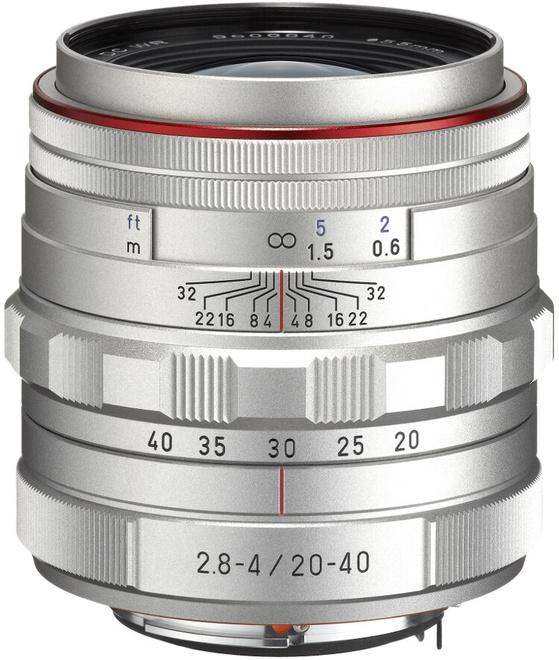 PENTAX 20-40/2.8-4 ED HD DA DC WR ARGENT