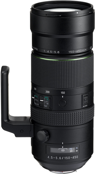 PENTAX 150-450/4.5-5.6 HD D-FA ED DC WR