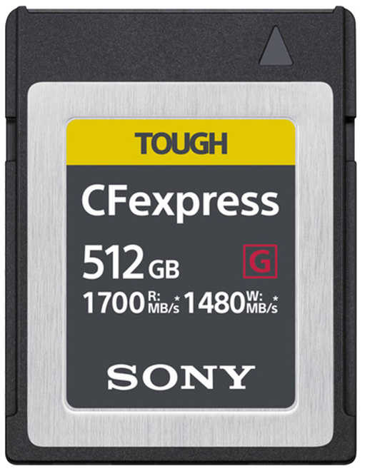 SONY CFEXPRESS Serie G 512 GB Tough