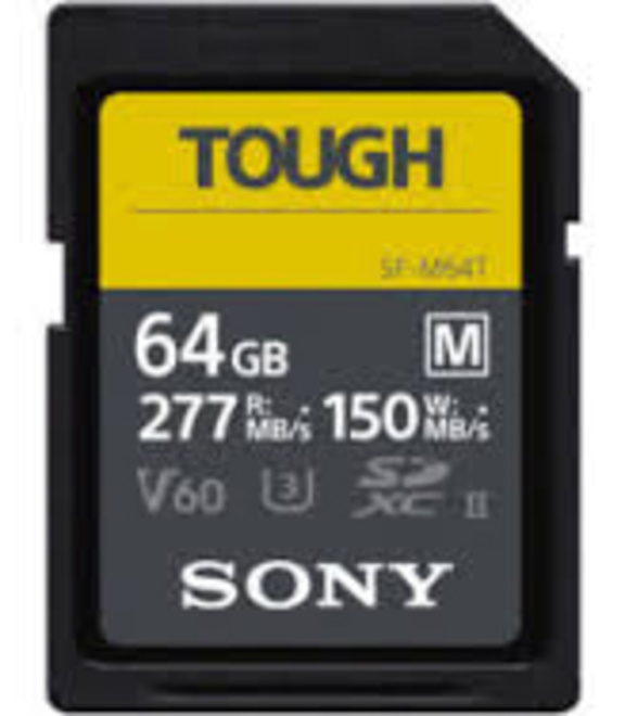 SONY CARTE SD UHS-II M TOUGH SERIE CL10 U3 64