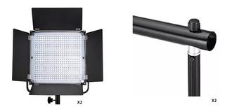 PIXEL Kit 2 panneaux K80S + pieds