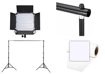 PIXEL Kit video K80S + derouleur + fond