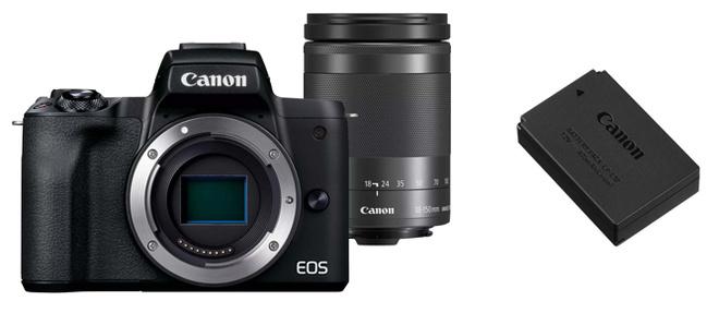 CANON EOS M 50 MK II + 18-150 + LP-E12