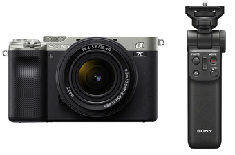 SONY ALPHA 7C ARGENT + 28-60 + GPVPT2