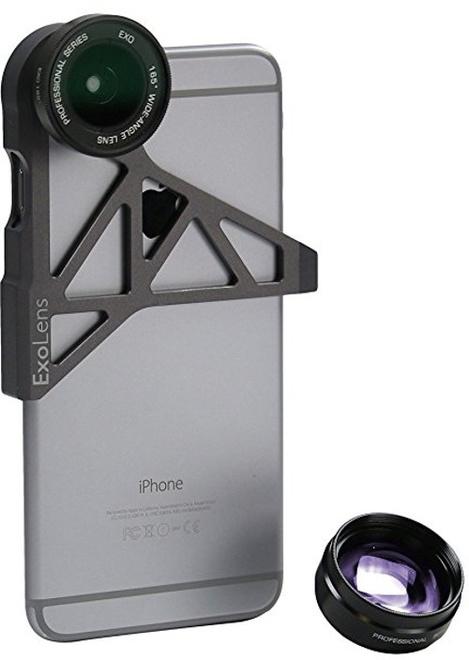 EXOLENS exolens iphone 6/6s 2 optiques.