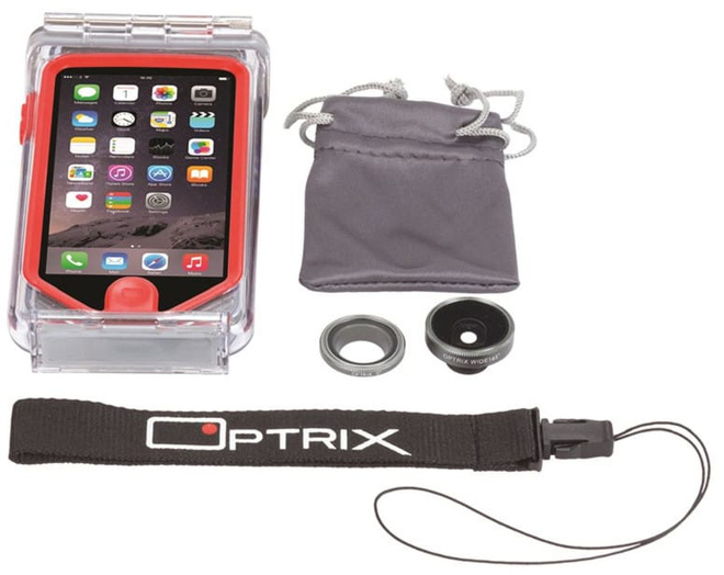 OPTRIX                    (PHOX) kit 2 obj iphone 6.