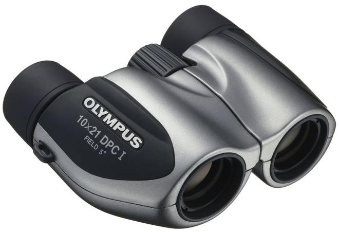OLYMPUS JUMELLES DPC I - 10X21 ARGENT + ETUI