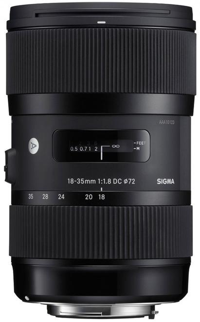 SIGMA 18-35/1.8 DC HSM ART CANON