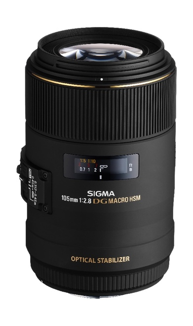 SIGMA 105/2.8 DG EX MACRO OS HSM CANON