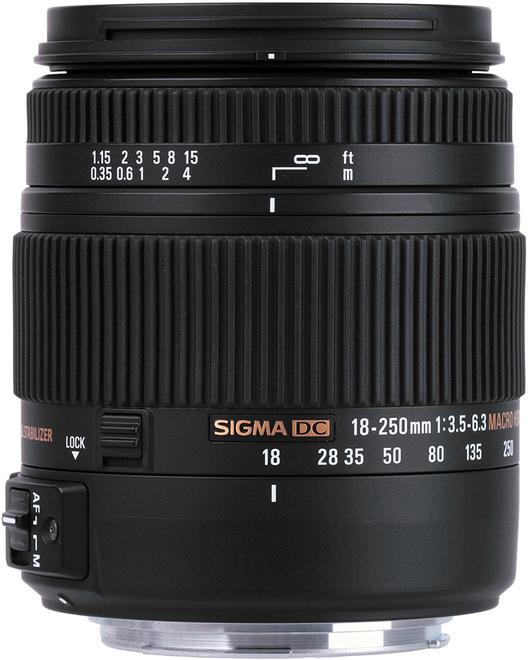 SIGMA 18-250/3.5-6.3 DC OS HSM MACRO CANON