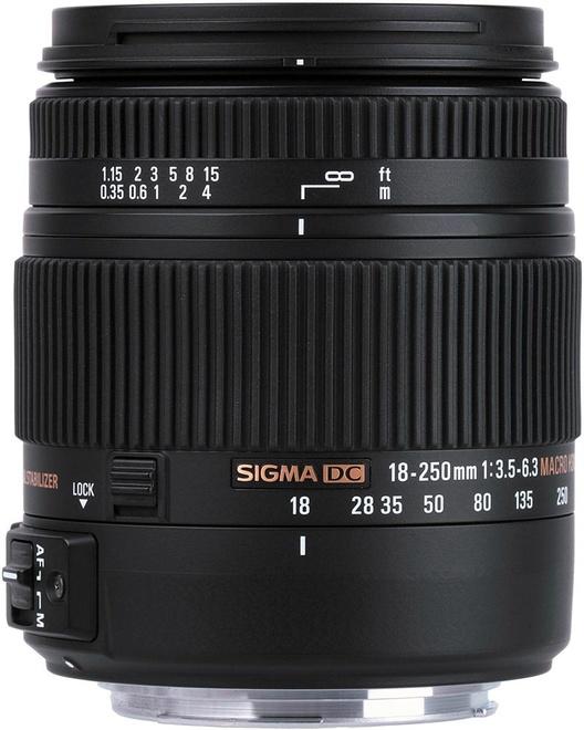 SIGMA 18-250/3.5-6.3 DC OS HSM MACRO NIKON
