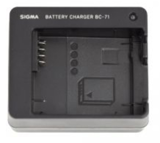 SIGMA CHARGEUR BATTERIE BC-71