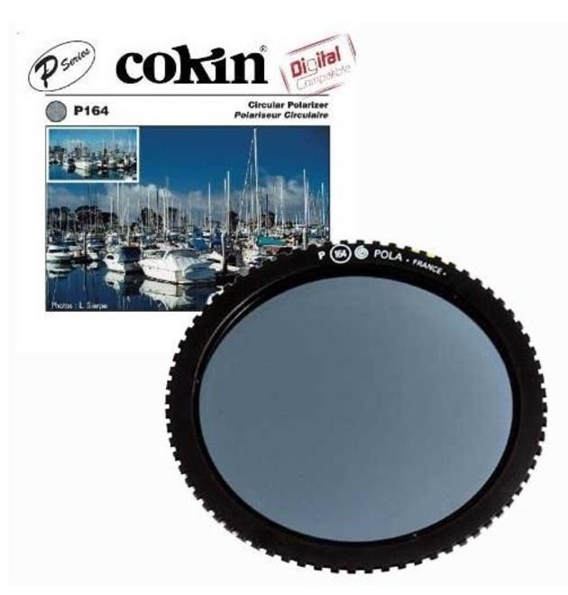 COKIN filtre circulaire polarisant.