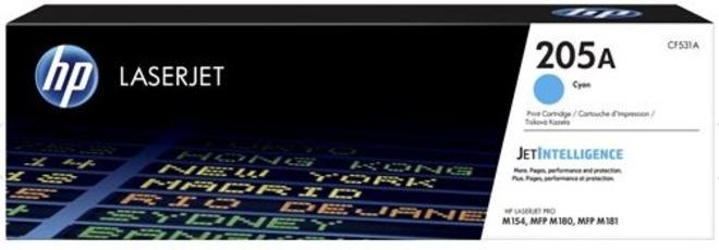 HEWLETT PACKARD toner cyan HP205 pr MFP M 181.