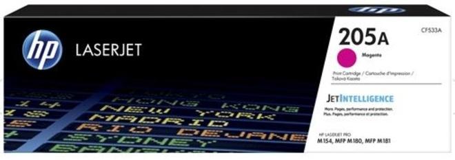 HEWLETT PACKARD toner magenta HP205 pr MFP M 181.