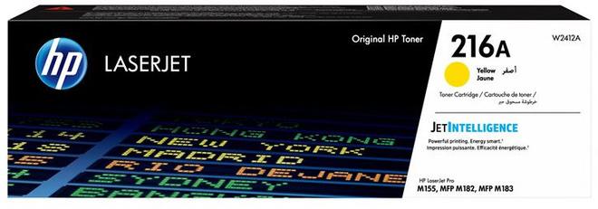 HEWLETT PACKARD toner 216 yellow pr MFP M 183