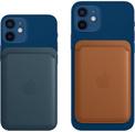 APPLE porte carte cuir magsafe bleu bal p/ip12