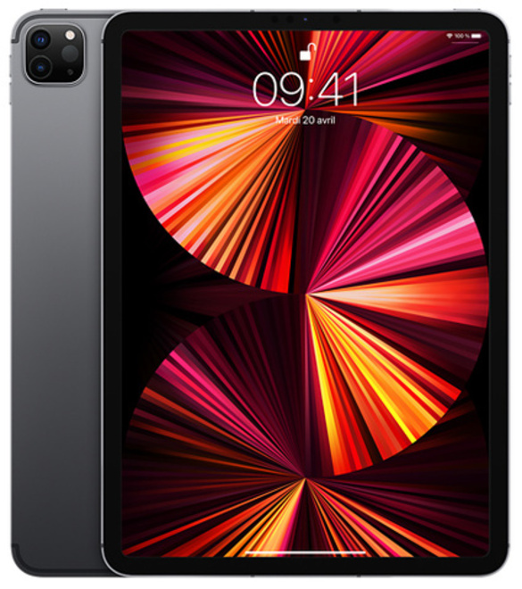 APPLE 11 iPad Pro Cellular 2TB - Space Grey