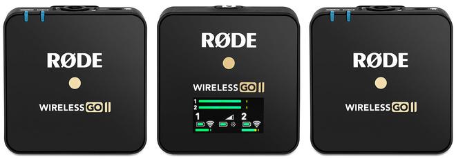 RODE PHOTO MICROPHONES WIRELESS GO II