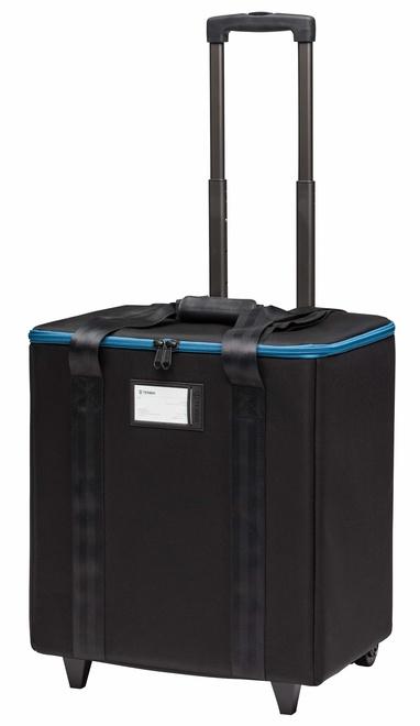 TENBA Air case 1x1 LED 3-Panels w/ wheels - Bl