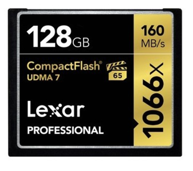 LEXAR CFAST 128 GB 1066 X PRO UDMA 7