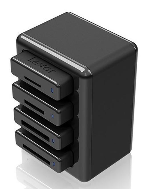LEXAR HUB de lecteurs USB 3.0
