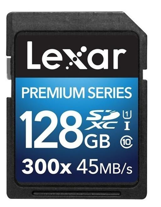 LEXAR SDHC 128 GB PREMIUM II UHS-I U1 CL10
