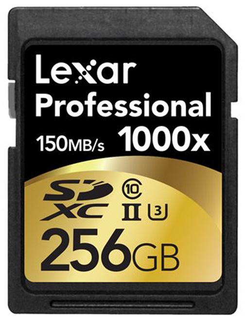 LEXAR SD XC 256GB 1000x Pro UHS-2