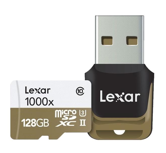 LEXAR SDXC 128 GB 1000 X PRO UHS-II U3 CL10