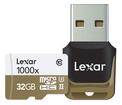 LEXAR MICRO SDHC 32GB 1000X UHSII U3 CL10+ADPT