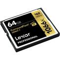 LEXAR CF 64 GB 1066X PRO UDMA 7