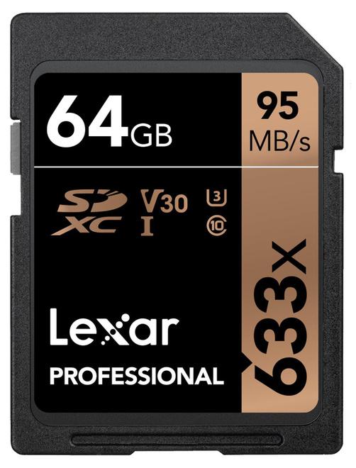 LEXAR SDXC 64GB 633x Pro UHS-I U1 Class10