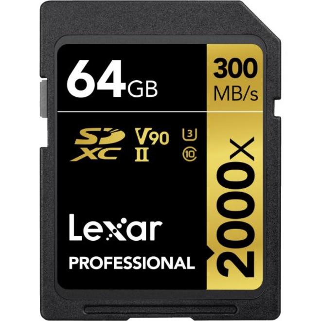 LEXAR LSDXC 64GB 2000X V2