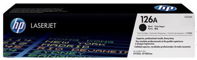 HEWLETT PACKARD toner noir hp126a