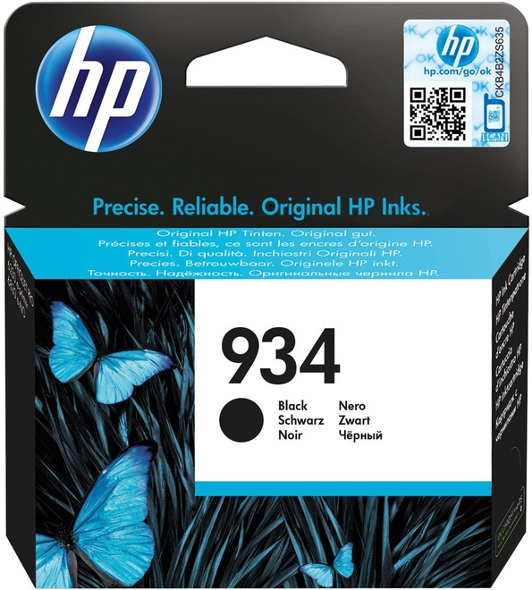 HEWLETT PACKARD HP 934 noir.